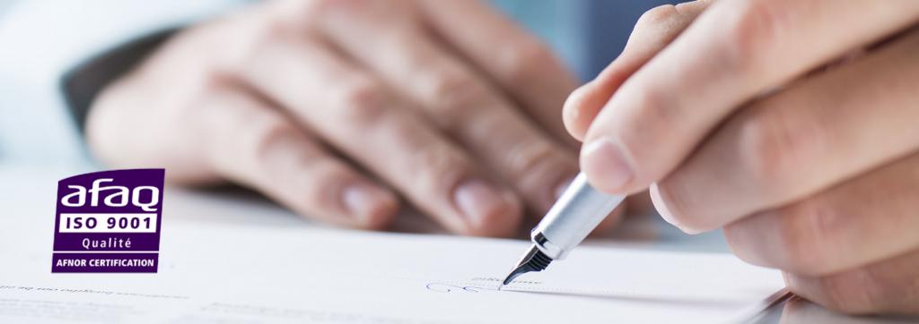 Nouveal obtient la certification ISO 9001