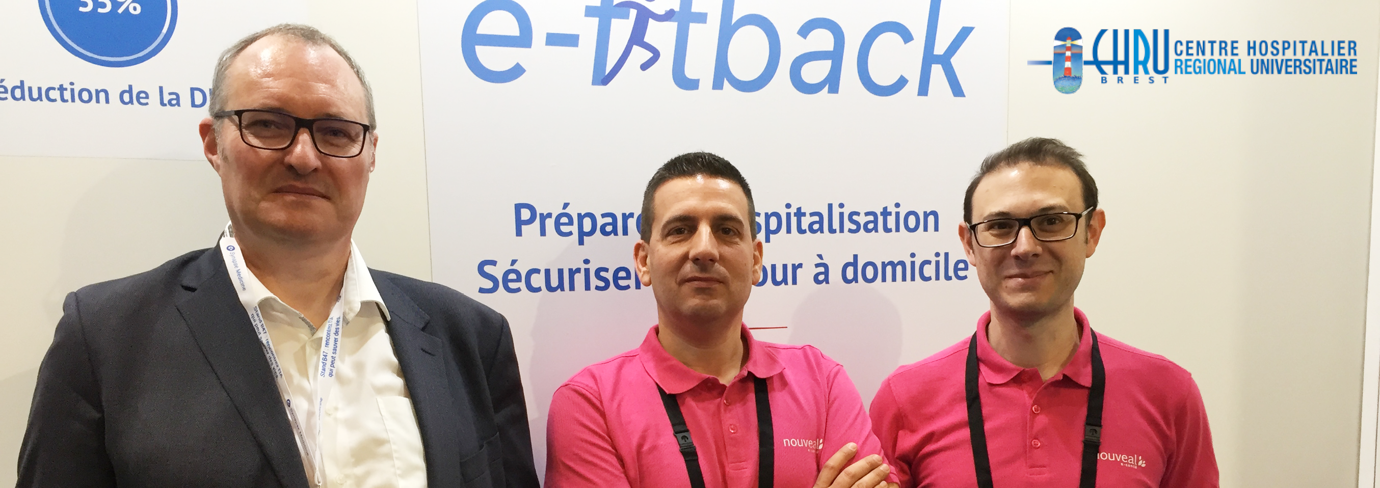 Le CHU de Brest booste son virage ambulatoire avec e-fitback