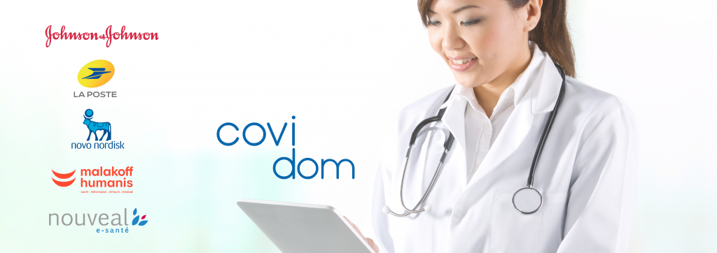Covidom is opening up to all community healthcare professionals in France – free of charge