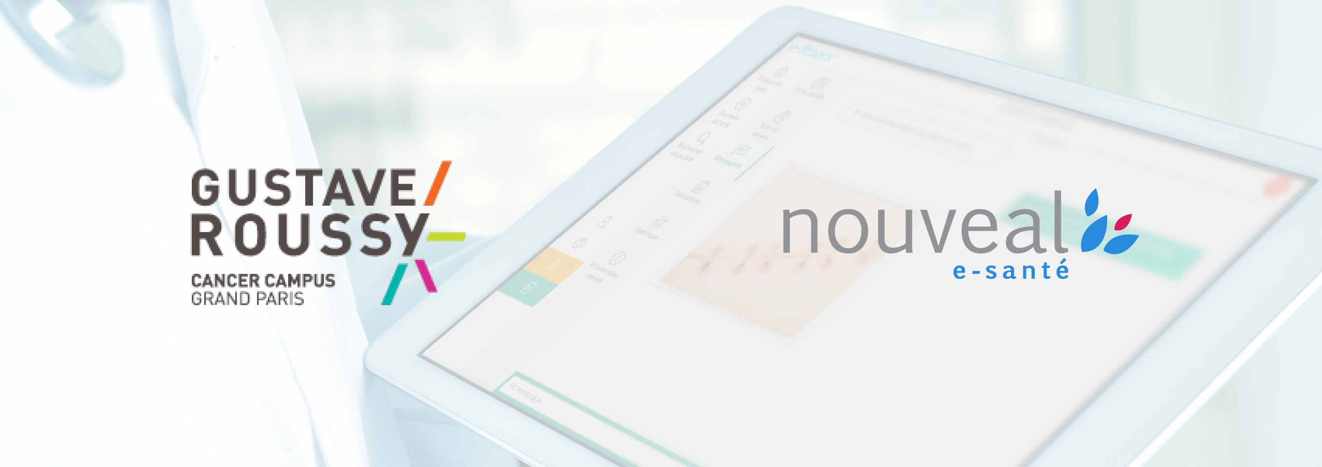 Nouveal e-health has been chosen by Gustave ROUSSY to implement its new digital portal dedicated to patients' follow-up.