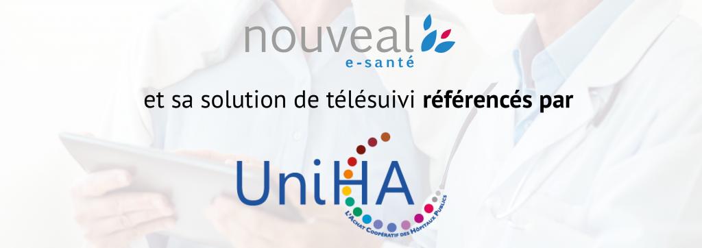 Nouveal e-santé et sa solution de télésuivi référencés par UNIHA